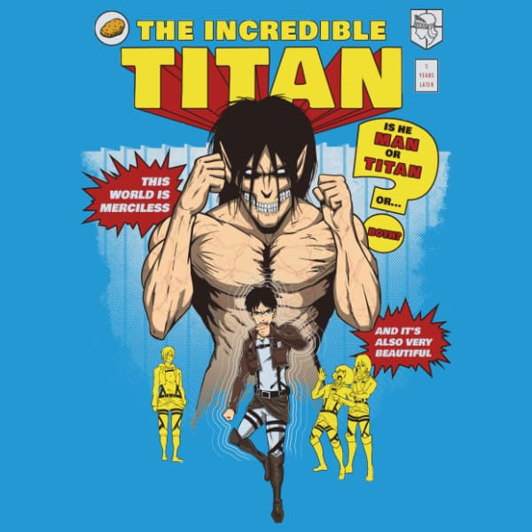 he Incredible Titan