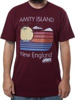 Amity Island New England JAWS T-Shirt