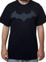 Batman Hush Logo on Black T-Shirt