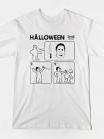 HALLOWEEN INSTRUCTIONS T-Shirt