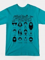 The Movie Facial Hair Compendium T-Shirt