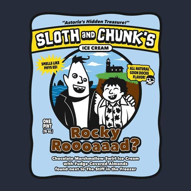 SLOTH AND CHUNK'S ICE CREAM