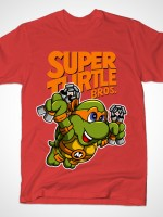 Super Turtle Bros Mikey T-Shirt