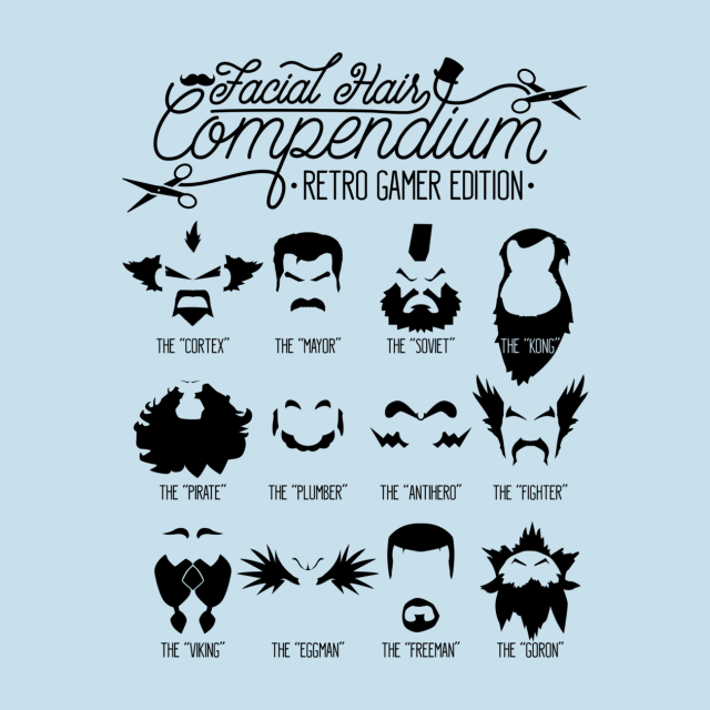 THE GAMER FACIAL HAIR COMPENDIUM