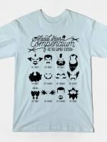 The Gamer Facial Hair Compendium T-Shirt
