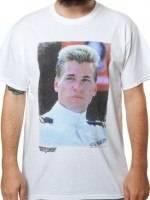 Top Gun Iceman Portrait T-Shirt