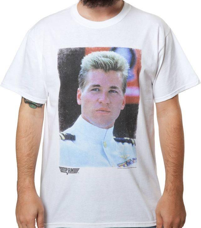 Top Gun Iceman Portrait