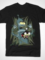 BENDER AND NIBBLER - ALIEN ATTACK! T-Shirt
