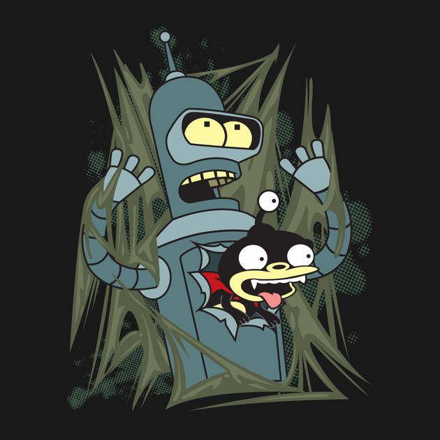 BENDER AND NIBBLER - ALIEN ATTACK!