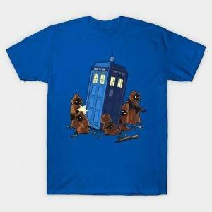 Jawas and TARDIS T-Shirt