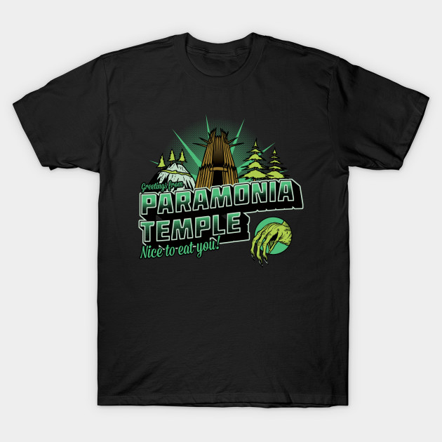 Oddworld Greetings From Paramonia Temple T-Shirt