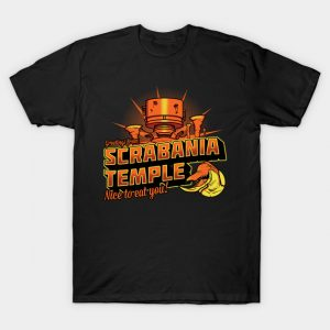 Oddworld Greetings From Scrabania temple T-Shirt