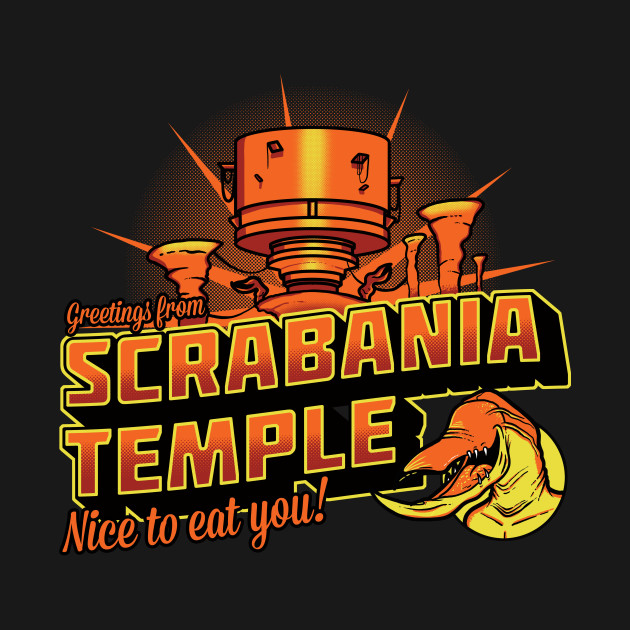 Greetings From Scrabania temple