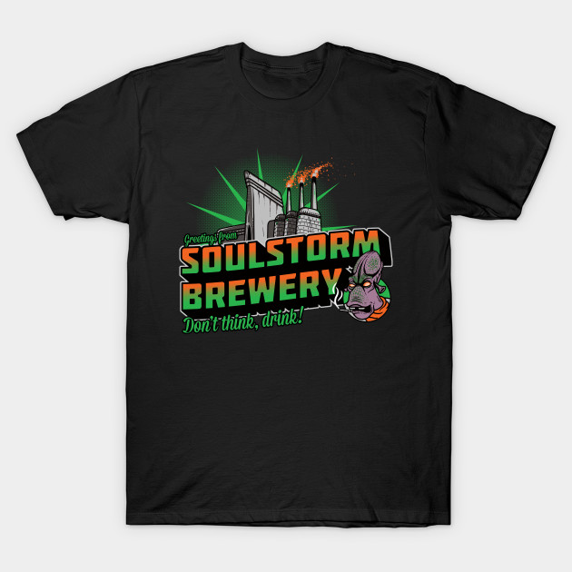 Oddworld Greetings From Soulstorm Brewery T-Shirt