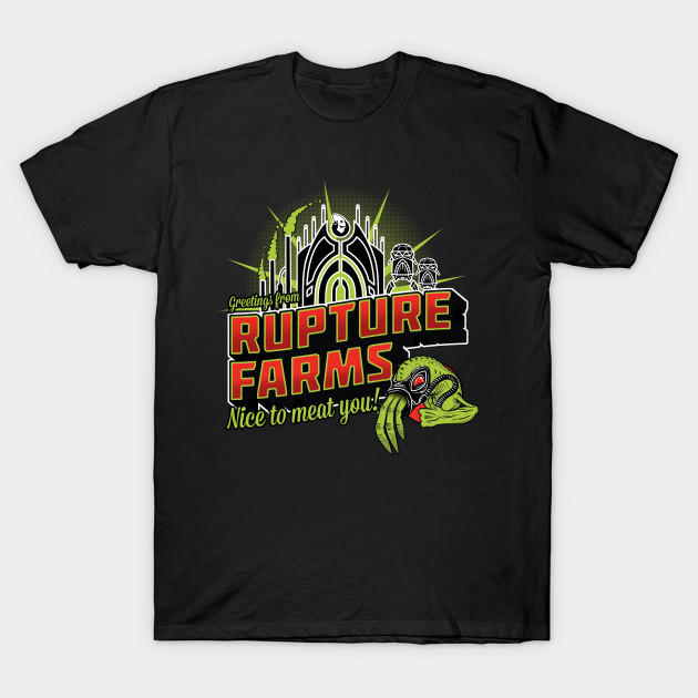 Oddworld Greetings from RUPTURE FARMS T-Shirt