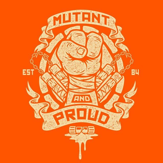 Mutant & Proud Mikey