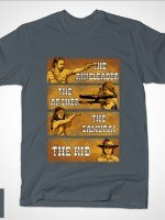 The Ringleader, the Archer, the Samurai & the Kid T-Shirt