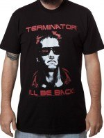 Terminator Ill Be Back T-Shirt