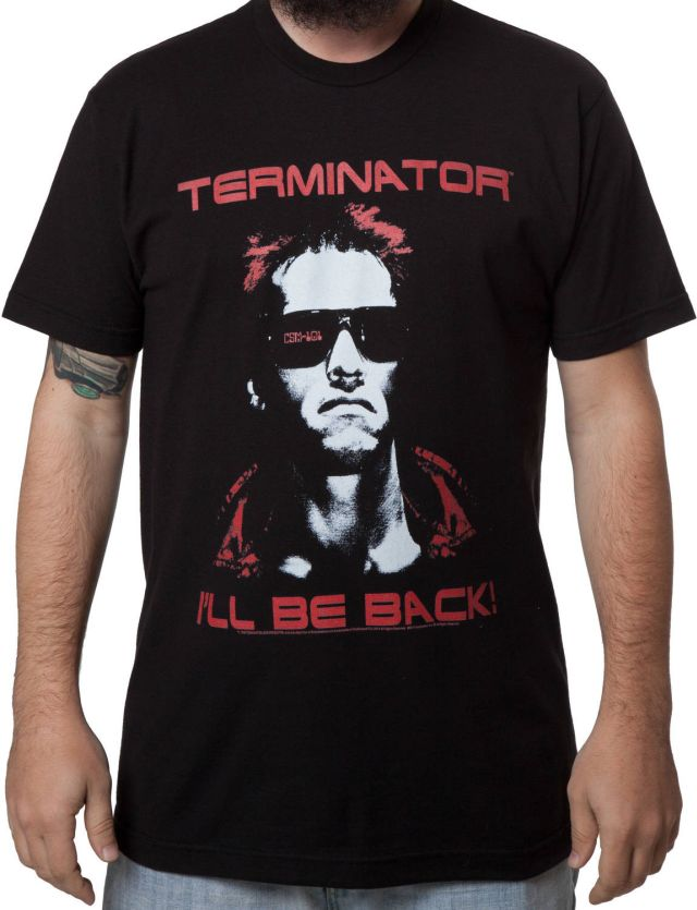 Terminator Ill Be Back