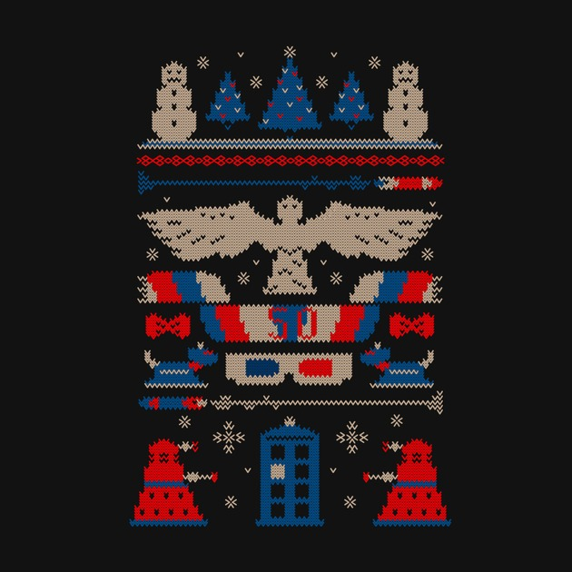 UGLY DOCTOR WHO SWEATER