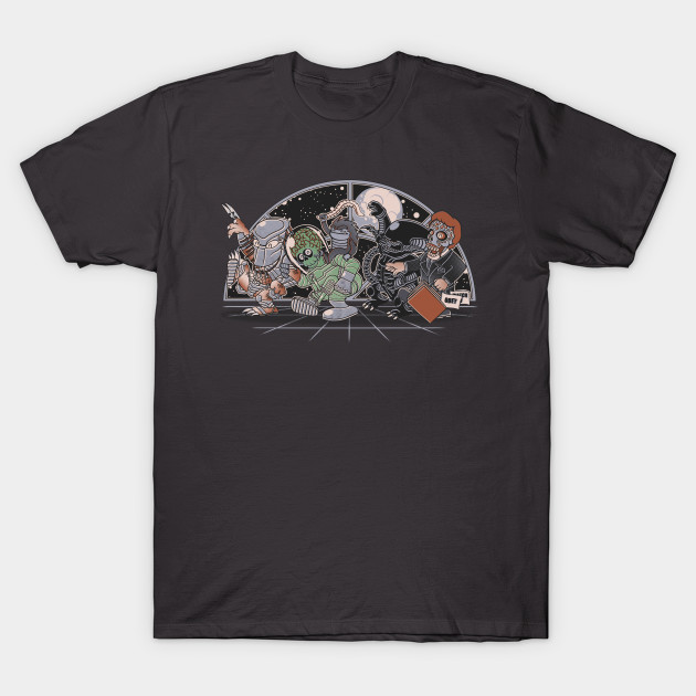 Where the nasty Aliens are T-Shirt