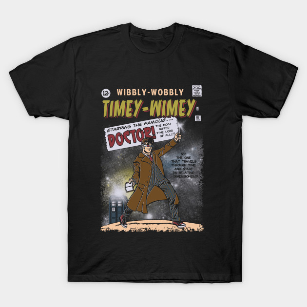 Doctor Who Timey-Wimey T-Shirt