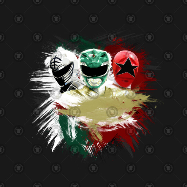 Tommy - White, Green & Red Ranger