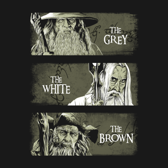 WIZARDS OF MIDDLE-EARTH