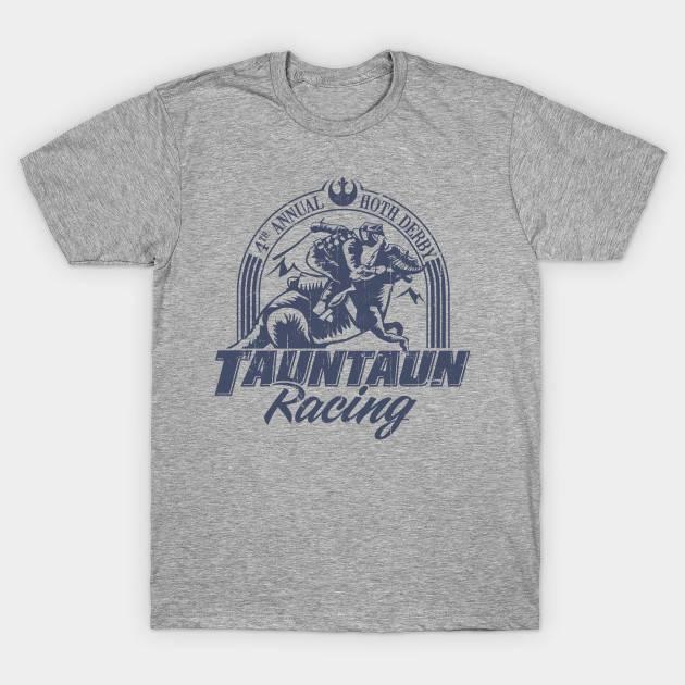 Hoth Tauntaun Racing Distressed Star Wars Design
