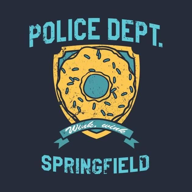 POLICE DEPT. OF SPRINGFIELD