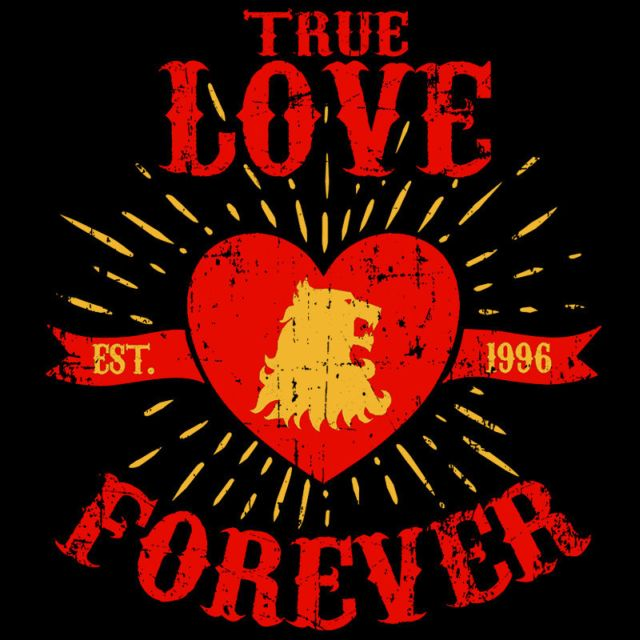True Love Forever Lion