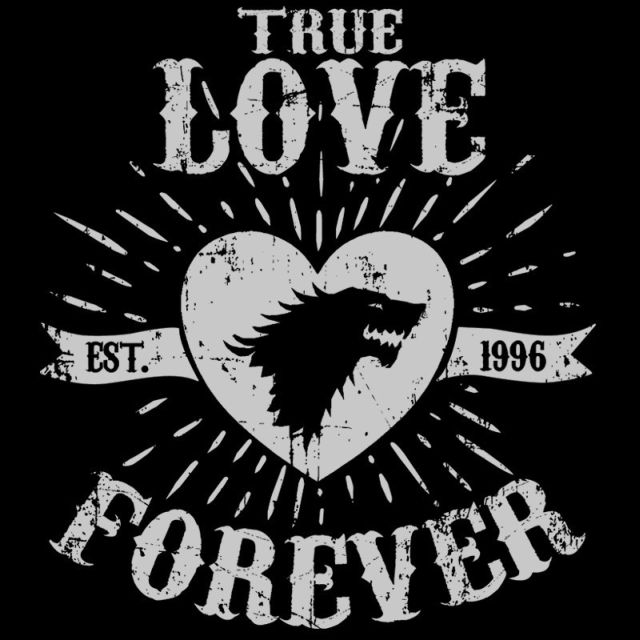 True Love Forever Wolf