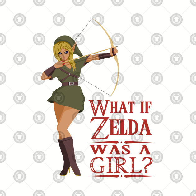 What if Zelda was a girl T-Shirt