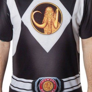 Black Ranger Sublimation Costume