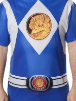 Blue Ranger Sublimation Costume T-Shirt