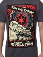 Charcoal Support the Revolution T-Shirt