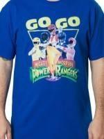Go Go Power Rangers T-Shirt
