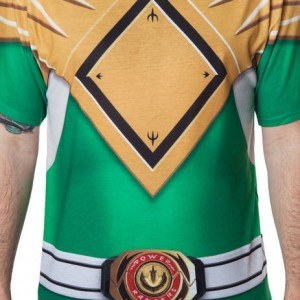 Green Ranger Sublimation Costume