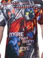 Optimus Prime vs Megatron Sublimation T-Shirt