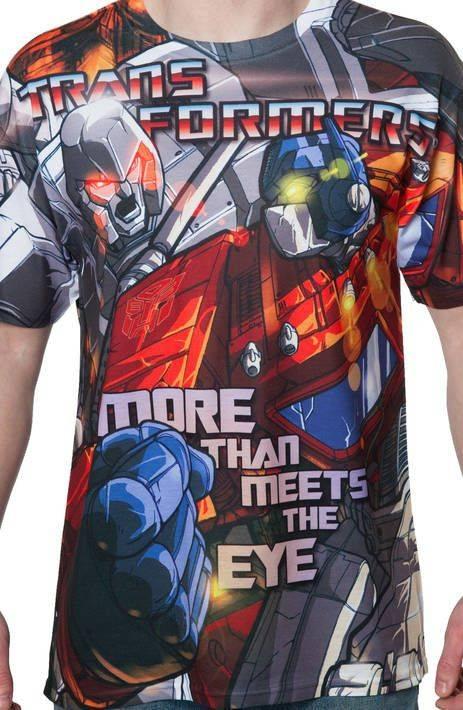 Optimus Prime vs Megatron Sublimation