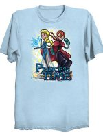 Princess Time Elsa Anna T-Shirt
