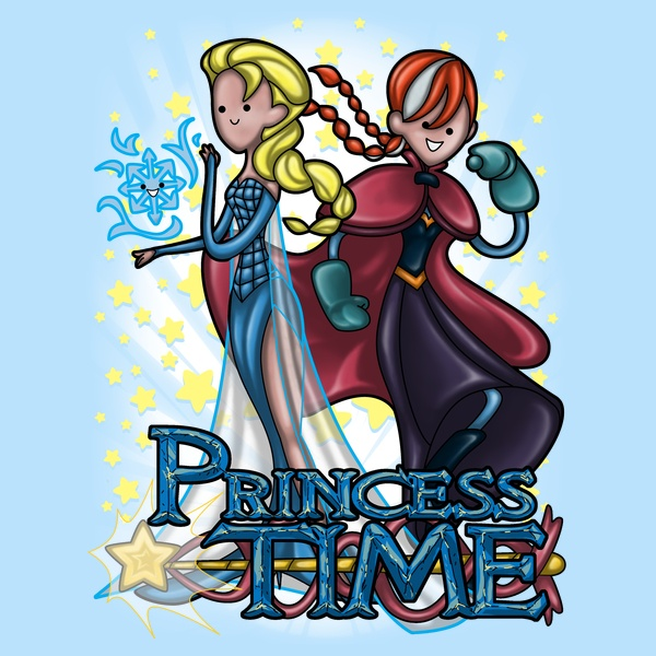Princess Time - Elsa & Anna