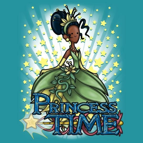 Princess Time - Tiana T-Shirt