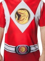 Red Ranger Sublimation Costume T-Shirt