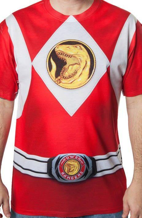 Red Ranger Sublimation Costume