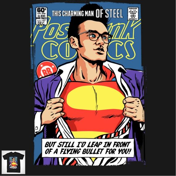 THIS CHARMING MAN OF STEEL