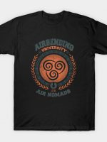 Air Bending University T-Shirt