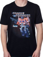 Box Art Optimus Prime T-Shirt