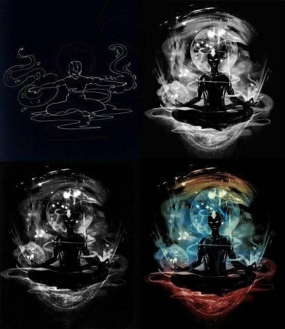 Design Process by Kharmazero