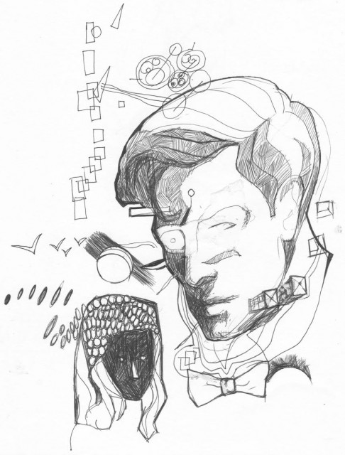 Doctor Who sketch by Kharmazero